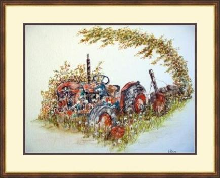 tractor painting