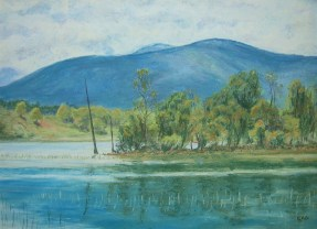 Loch Pityoulish painting