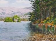 Loch an Eilein painting