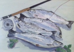 Fishes painting