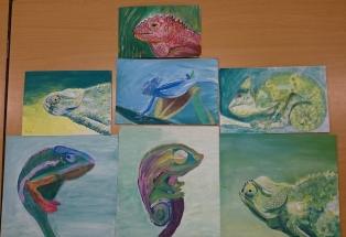 Chameleons art
