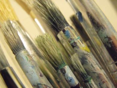 paint brushes paintbrushes art