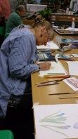 watercolour pencils