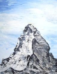 Matterhorn painting