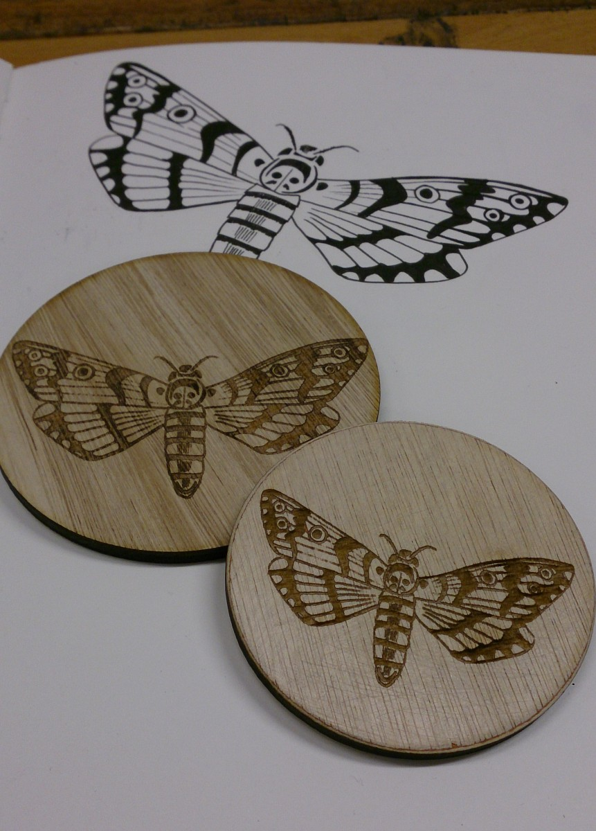 coasters moth