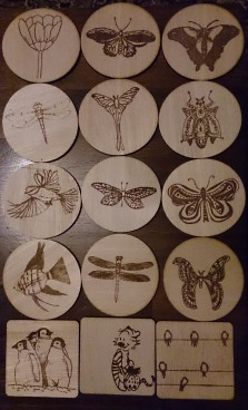 Spey Art Group coasters