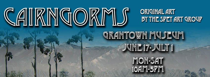 Cairngorms exhibition, Grantown Museum 2017