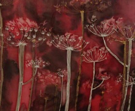 Dolly Allsorts silk painting