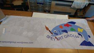 Spey Art Group banner