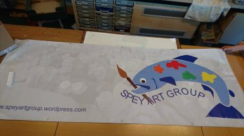 Spey Art Group banner