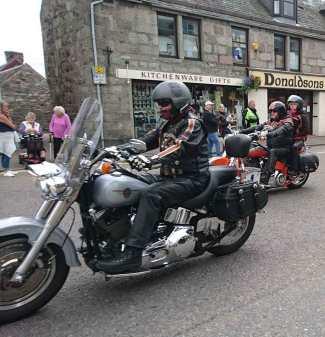 Harley Davidsons Thunder in the Glens Grantown