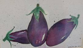 Purple 1 Katie Fenton aubergines