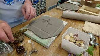 plaster selecting shells