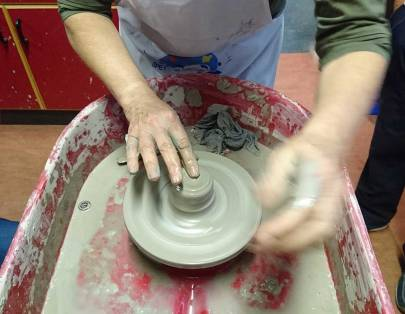 pottery starting