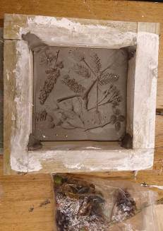imprinted plaster