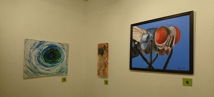 Art exhibition at Grantown Museum
