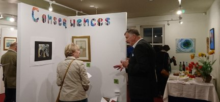 Consequences Opening Night Grantown Museum