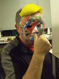 Spey Art Group Donald Trump mask