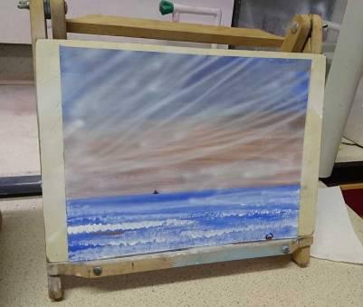 airbrush landscape seascape