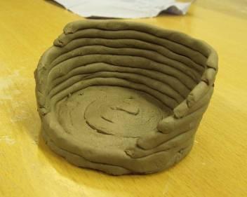Alan's cairn-inspired pinch pot