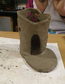 Clay tower
