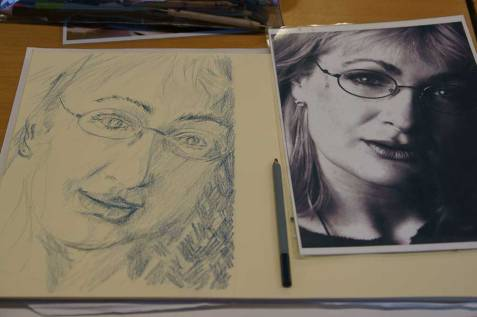 Caroline Aherne portrait