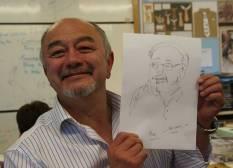 Alan portrait lesson