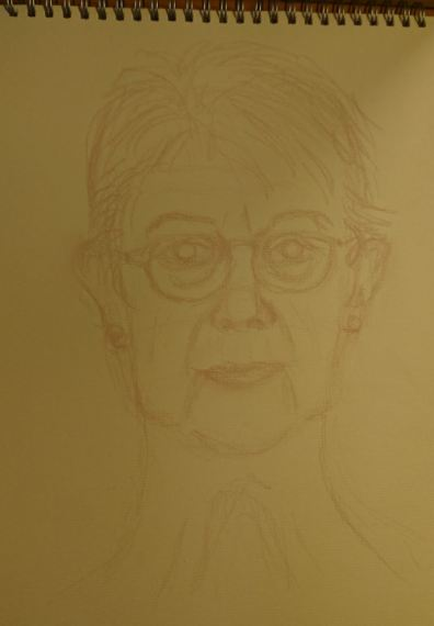 Woman's self-portrait