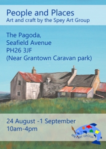people and places an exhibition of art and craft by the Spey Art Group