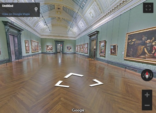 National Gallery Google tour