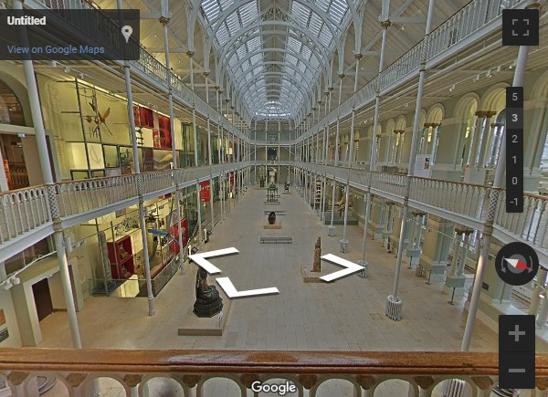 National Museum of Scotland Google tour