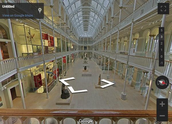 National Museum of Scotland Google tour